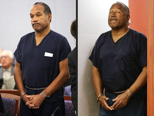 PHOTO: O.J. Simpson Shows the Effects of 4½ Years of Pri