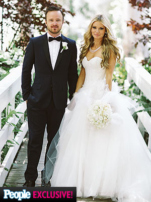 Aaron Paul Married Lauren Parsekian; Inside Breaking Bad Star's Wedding