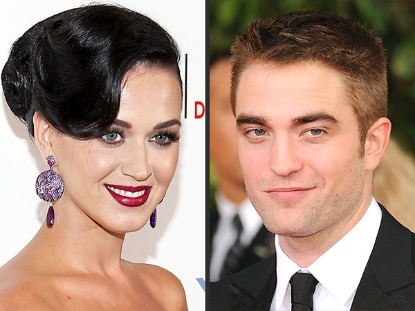 Katy Perry and Robert Pattinson Sit Together at Wedding Rehearsal