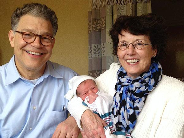 Al Franken Is a Grandpa