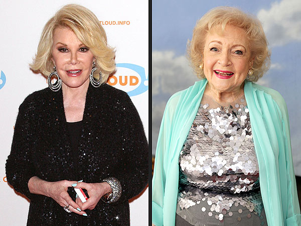 Joan Rivers 80th Birthday; Says Betty White Is a Hero