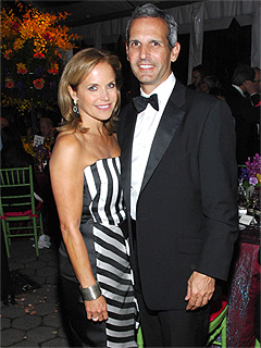 Katie Couric and John Molner Attend Black Tie Gala at the Central Park Zoo | Katie Couric