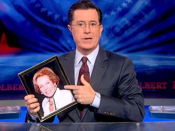 Stephen Colbert Pays Emotional Tribute to His Mother on Colbert Report
