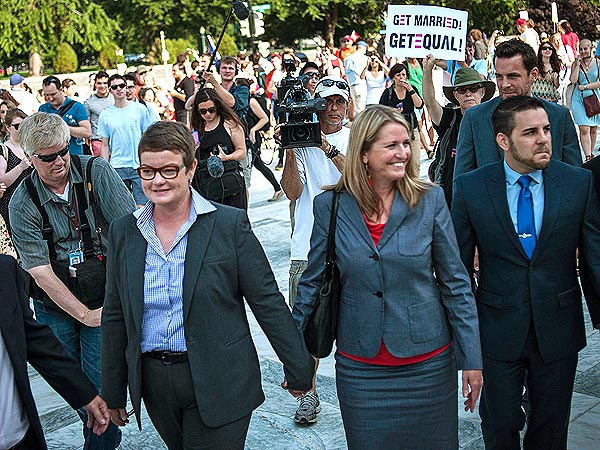 Meet Kris Perry and Sandy Stier, the Couple Behind the Defeat of Prop 8