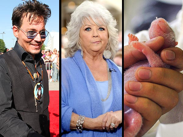 Paula Deen Thanks the Food Network After Firing, Johnny Depp Surprises Fans