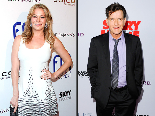 LeAnn Rimes Says Charlie Sheen Is 'a Doll'