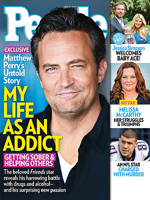 Matthew Perry Opens Up about Getting Sober – and Helping Others Battle Addiction
