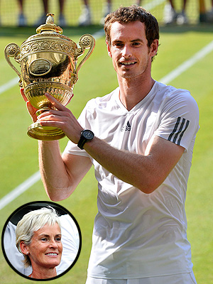 Andy Murray Forgot to Hug His Mom After Historic Win