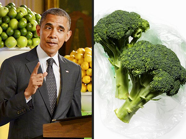 Obama Tells Kids' State Dinner He Loves Broccoli & Re-Ignites 'Broccoli-Gate'