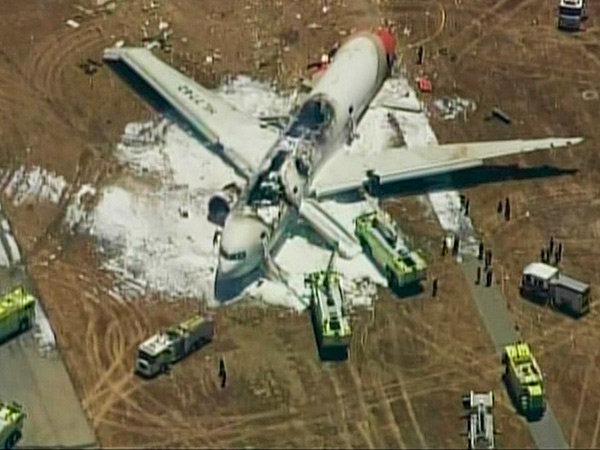 Third Passenger from Asiana Airlines Flight 214 Dies