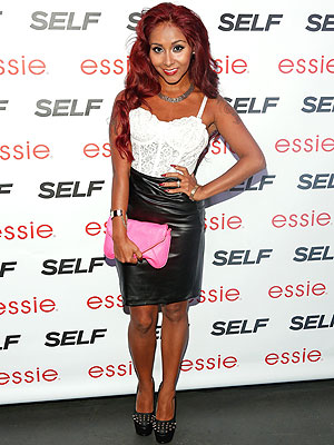 Nicole 'Snooki' Polizzi Shows Off Super Slim Physique