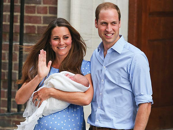 Prince William and Kate Name Their Baby George Alexander Louis