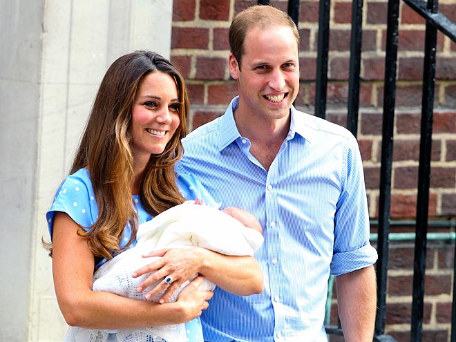 Prince of Cambridge First Photo