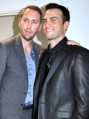 Cheyenne Jackson and Monte Lapka Split