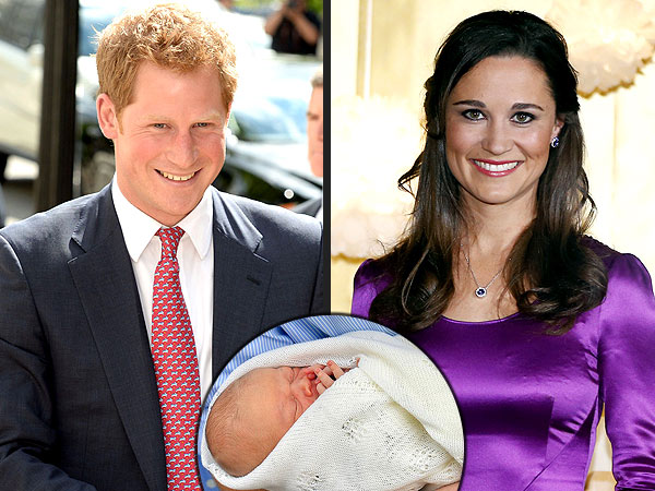 Prince George: Will Prince Harry & Pippa Middleton Be Godparents?