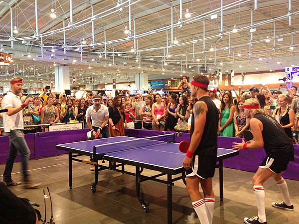 Lady Antebellum and Little Big Town Duke It Out in Epic Ping-Pong Match