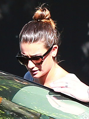 Lea Michele Records a 'Beautiful & Perfect' Song for 'Glee'