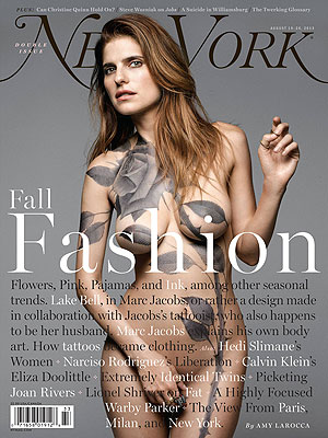 Lake Bell Bares All for Magazine Cover