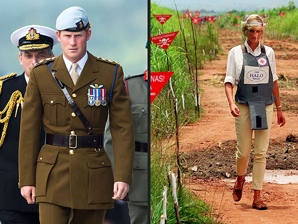 Prince Harry Retraces 1997 Africa Visit by His Mother