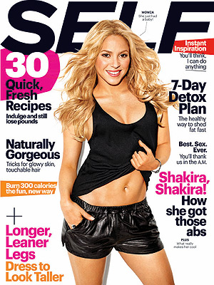 Shakira Shows Off Her Post-Baby Abs