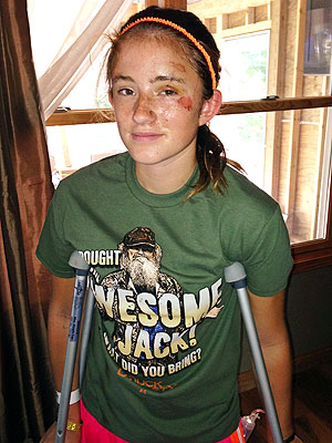 Bear Attacks Michigan Girl: 'I Ran as Fast as I Could,' Abby Wetherell, 12, Says
