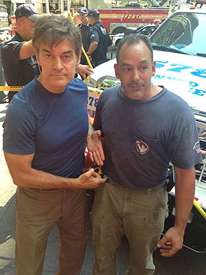 Dr. Oz and Plumber Aid Woman Struck by Taxi in N.Y.C.