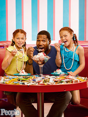 Michael Strahan: All About Raising Twin Girls
