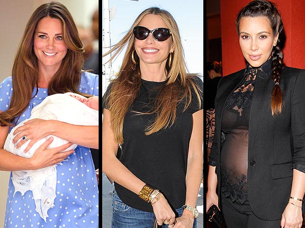 Sofia Vergara Photo, Royal Baby Watch, Kim Kardashian Steps Out with Baby