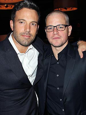 Matt Damon on Ben Affleck: 'He's a Good Card Player'