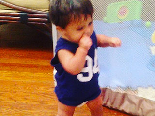 Nicole 'Snooki' Polizzi's Son Takes His First Steps