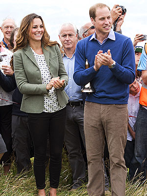 Kate and William Kick Off Marathon in Anglesey