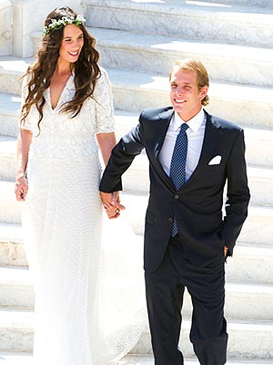 Andrea Casiraghi Weds Tatiana Santo Domingo