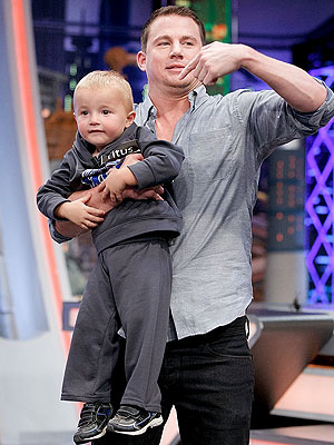Channing Tatum Schooled by Toddler in Basketball Game