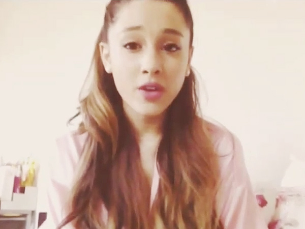 Ariana Grande Posts Instagram Video ... And She's Talking!