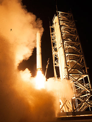 NASA Frog Photobombs Launch: Photo