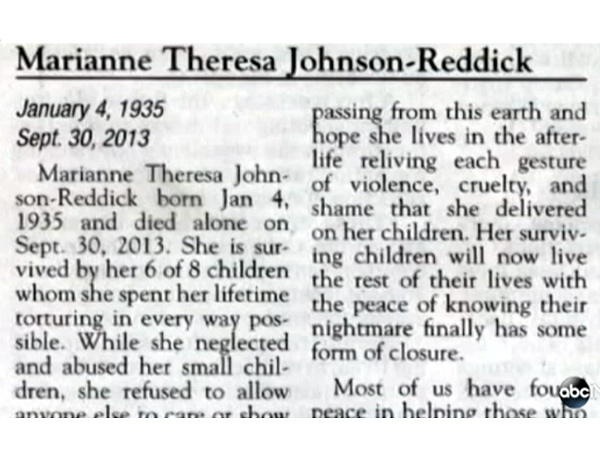 Scathing Obituary Becomes Internet Sensation