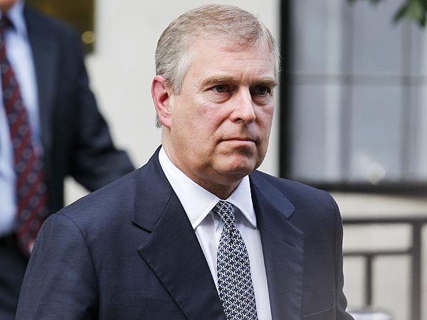 Prince Andrew Confronted by Police at Buckingham Palace