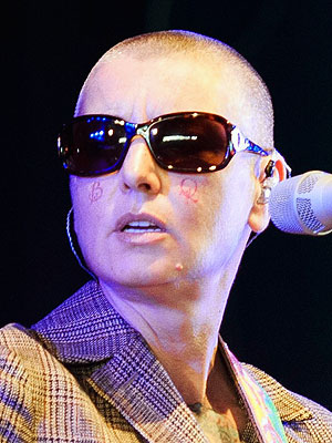 Sinéad O'Connor Debuts Two New Tattoos – on Her Face