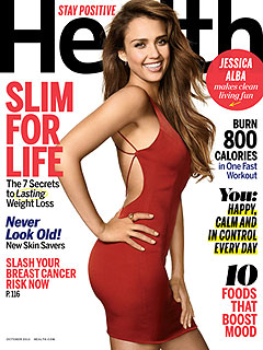 Jessica Alba Health Cover
