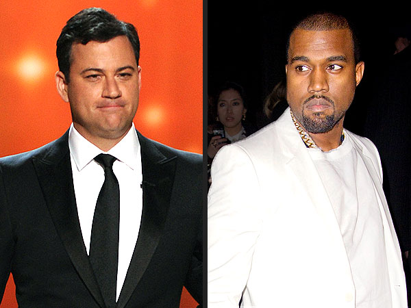 Jimmy Kimmel Zings Kanye West Twitter Diss
