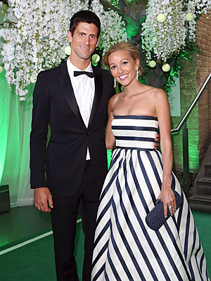 Wimbledon Winner Novak Djokovic & Fiancée Wed in Montenegro: Reports