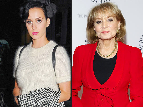 Katy Perry Recalls the Time Barbara Walters 'Shaded Me' for Being Late