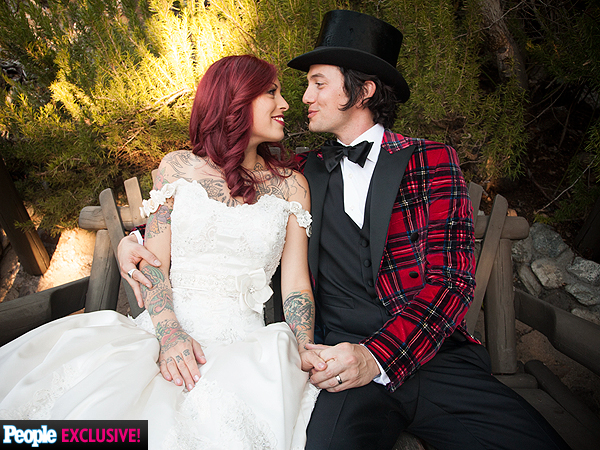 Jackson Rathbone, Sheila Hafsadi Wedding Photos