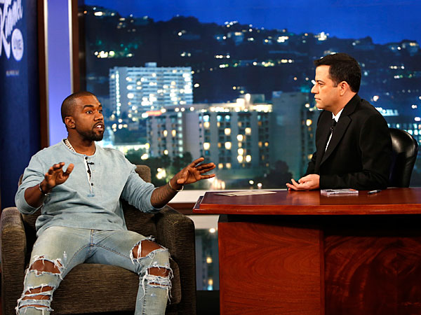 Jimmy Kimmel, Kanye West End Feud