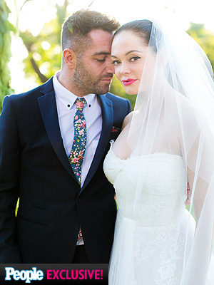 Rose McGowan: All the Details on Her 'Ethereal' Wedding
