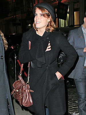 Princess Eugenie's Hits New York Charity Event