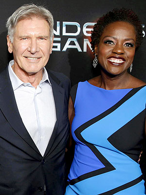 Viola Davis to Kiss Harrison Ford, Or Not?