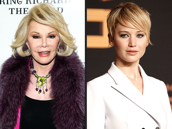 Joan Rivers to Jennifer Lawrence: You're Arrogant