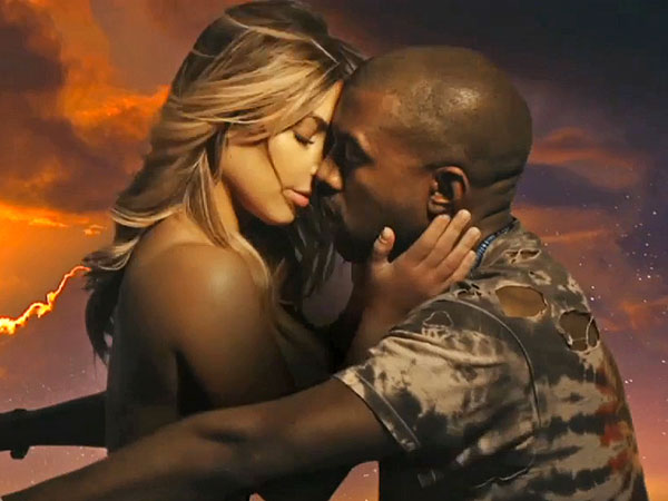 Kanye West Debuts Sexy Music Video for 'Bound 2' Starring Kim Kardashian