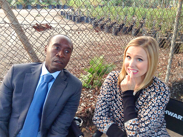 Kristen Bell, Don Cheadle Tweet That They're Safe After On-Set Gunfire Report